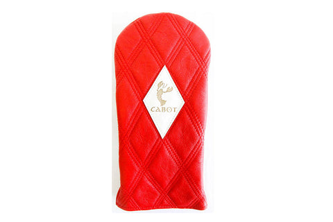 Dormie Cabot Cliffs Double Quilted Headcovers - Red