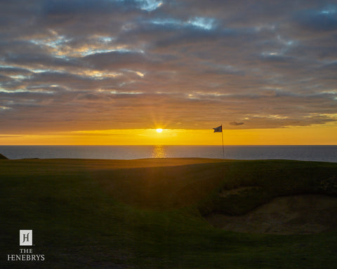 Cabot Links Sunset Print by The Henebrys – Image #CF009394