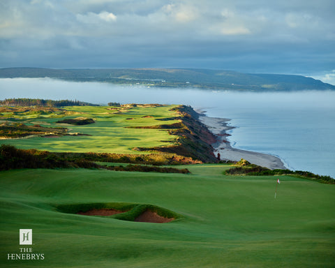 Cabot Cliffs Hole #17/18 Print by The Henebrys – Image #CF009433