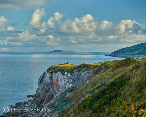 Panorama Cabot Cliffs Hole #16