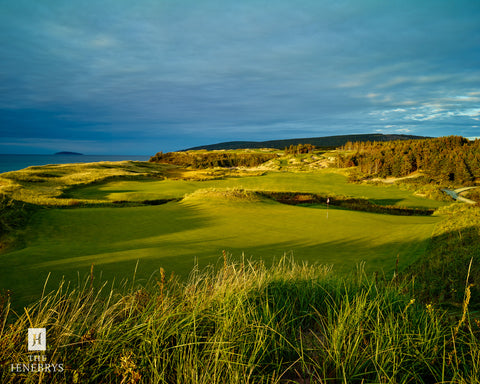 Cabot Cliffs Hole #2 Print by The Henebrys – Image #CF009538