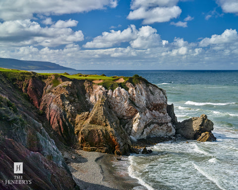 Cabot Cliffs Hole #16 Print by The Henebrys – Image #CF009670