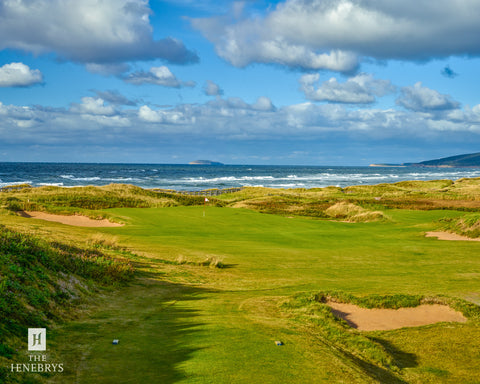 Cabot Links Hole #7 Print by The Henebrys – Image #CF009704