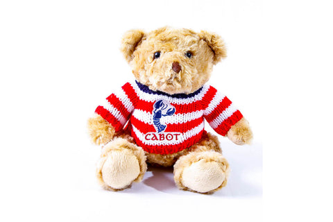 Cabot Cliffs Plush Teddy Bear in a Sweater