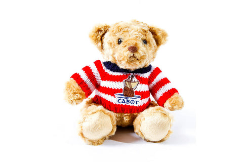 Cabot Links Plush Teddy Bear in a Sweater