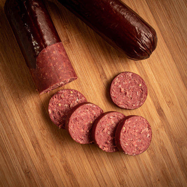 Bison Summer Sausage - Original
