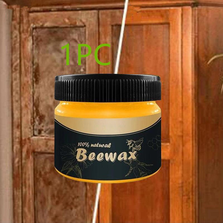 Wood Beewax Wood Care Wax Solid for Cleaning Furniture and has Waterproof Wear-Resistant function