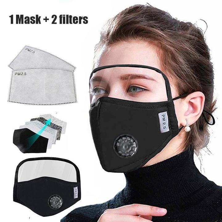 Outdoor Face Protective Face Mask With Eyes Shield(Buy More Save More)