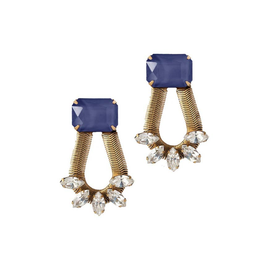 Midnight Clara Earrings