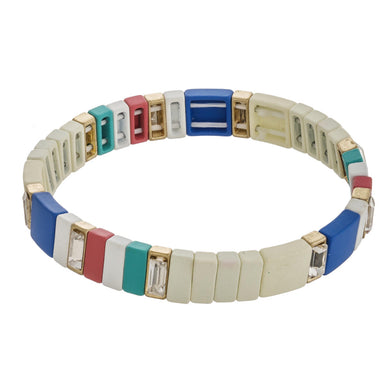 Highlands Color Block Shimmer Bracelet
