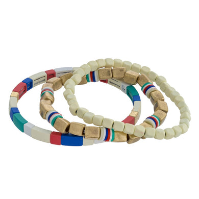 Highlands Color Block Bracelet Coastal