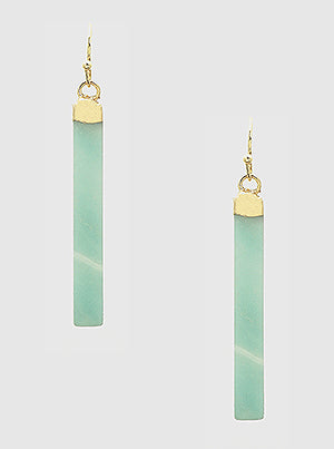 Drop Bar Earrings