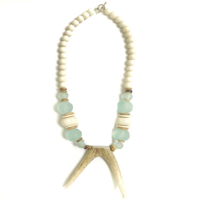Antler Bib Necklace