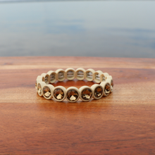 Load image into Gallery viewer, Cream Rhinestone Bracelet