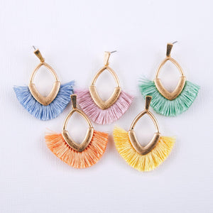 Soft Fringe Earrings