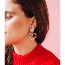 Load image into Gallery viewer, Crystal Cupid Earrings