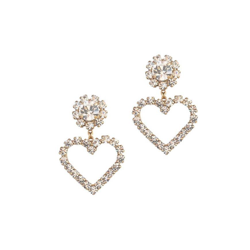 Crystal Cupid Earrings