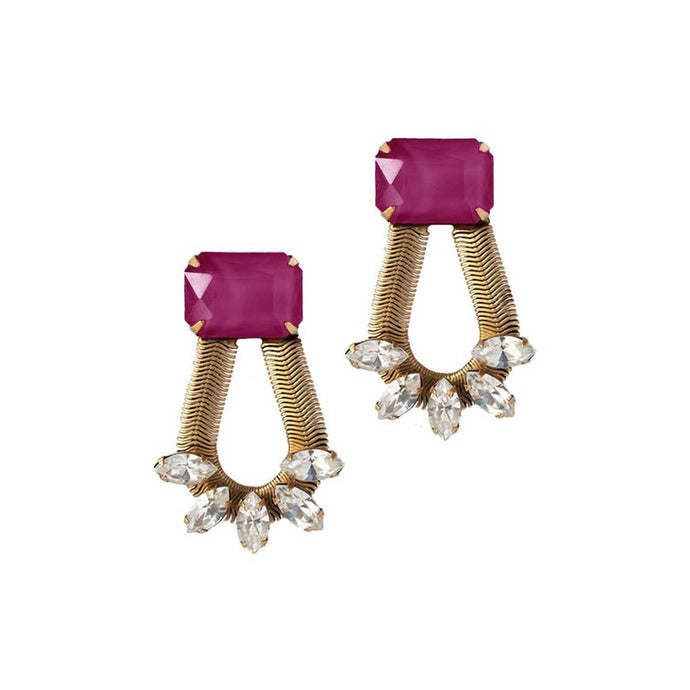 Merlot Clara Earrings