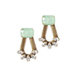 Mint Clara Earrings