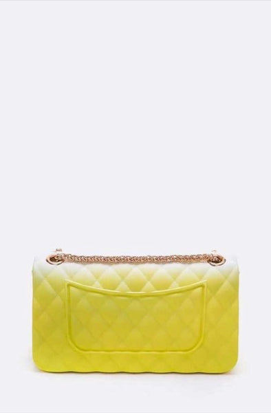 2 Tone Jelly Shoulder Bag