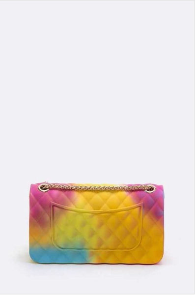 Rainbow Jelly Purse