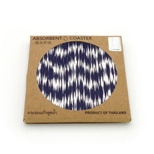 Load image into Gallery viewer, Absorbent Coaster-Indigo 02