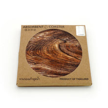Load image into Gallery viewer, Absorbent Coaster-Wood 01