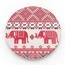 Load image into Gallery viewer, Absorbent Coaster-Ele Textile 1