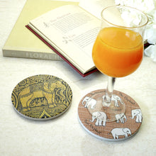Load image into Gallery viewer, Absorbent Coaster-Thai Elephant2