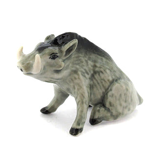 Ceramic Sitting Boar