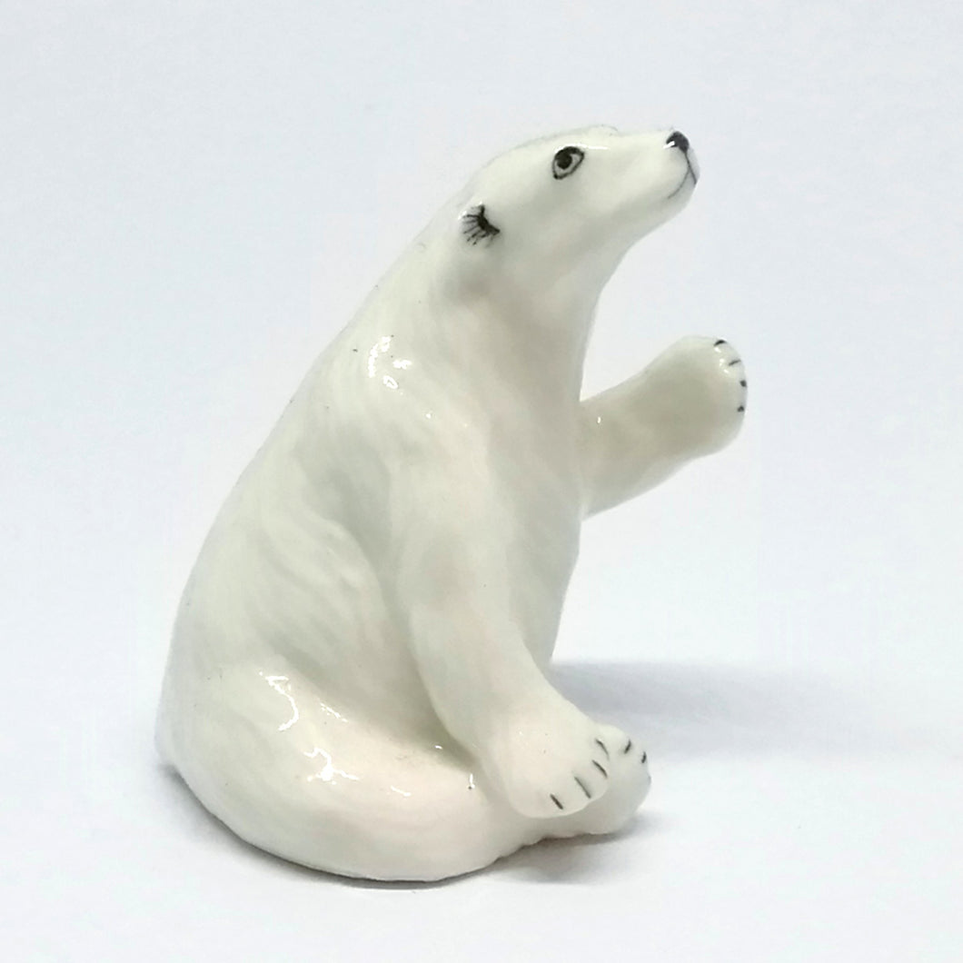 Ceramic Polar Bear Sitting
