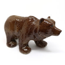 Load image into Gallery viewer, Ceramic Glossy Grizzly Bear