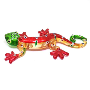 Glass Gecko Red