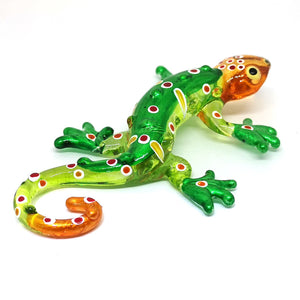 Glass Gecko Green