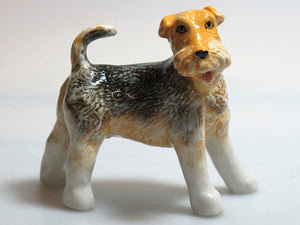 Ceramic 96701NN Fox terrier Dog