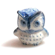 Load image into Gallery viewer, Ceramic Fat Owl, B/W, Model 1