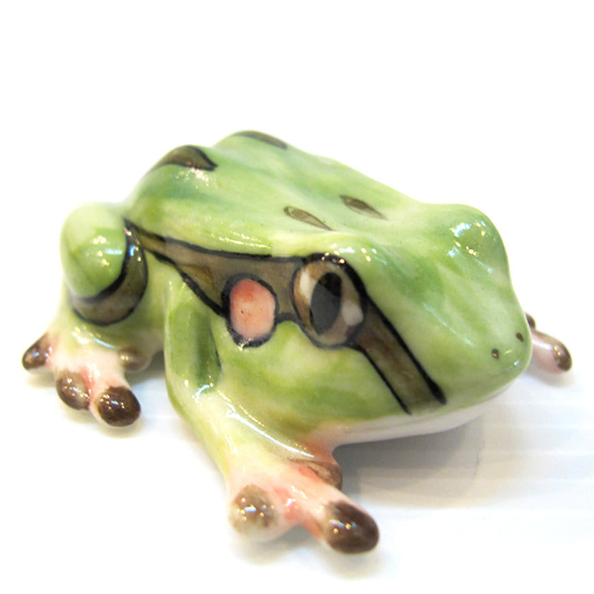 Ceramic West Cameroon Frog