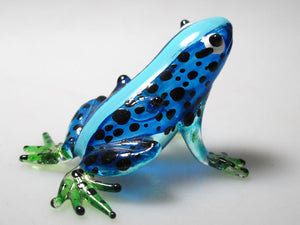 Glass Frog, Blue กบ