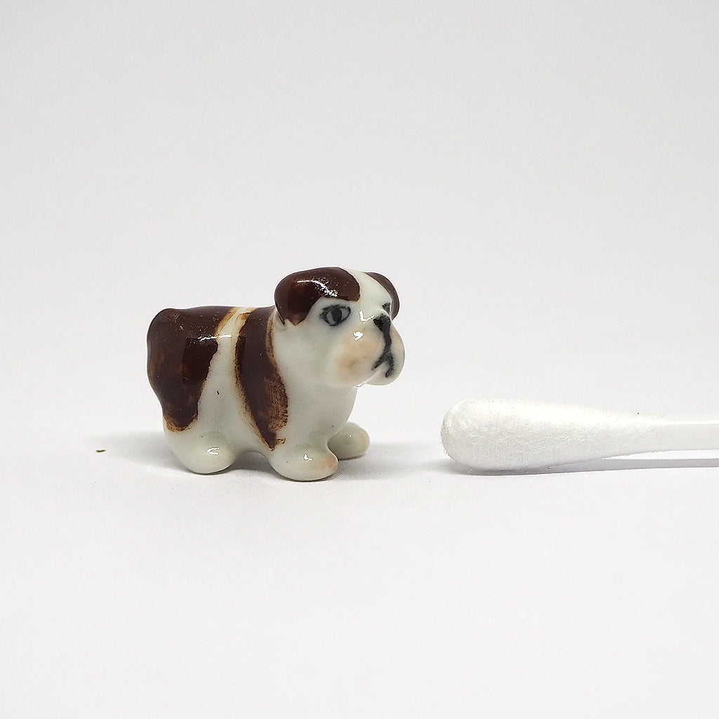 Ceramic MINI Tiny Bulldog