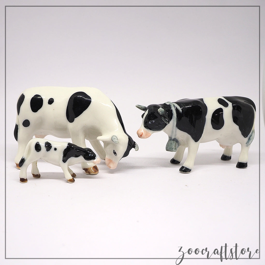 Large Cow Set of 3