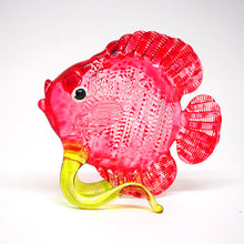 Load image into Gallery viewer, Glass Red Dicus Fish