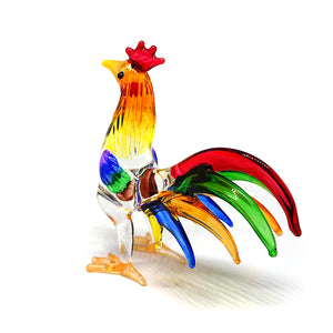 Fighting Rooster Chicken Colorful Color