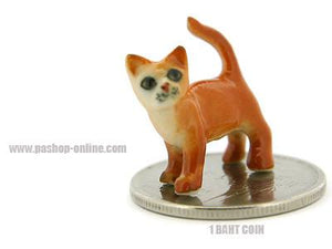 Ceramic MINI Mini Red Cat
