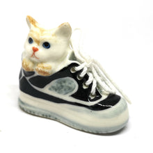 Load image into Gallery viewer, Black Cat in Shoe No.3 แมวนั่งในรองเท้า