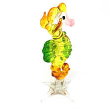 Load image into Gallery viewer, Glass Yellow Seahorse