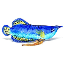 Load image into Gallery viewer, Glass Fish 029 Blue Arowana Fish