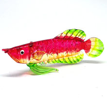 Load image into Gallery viewer, Glass Fish 028 Red Arowana Fish
