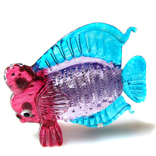 Load image into Gallery viewer, Glass Fish 064 Purple