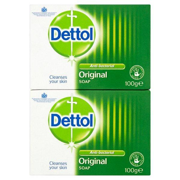 Dettol Soap Twin Pack 200g