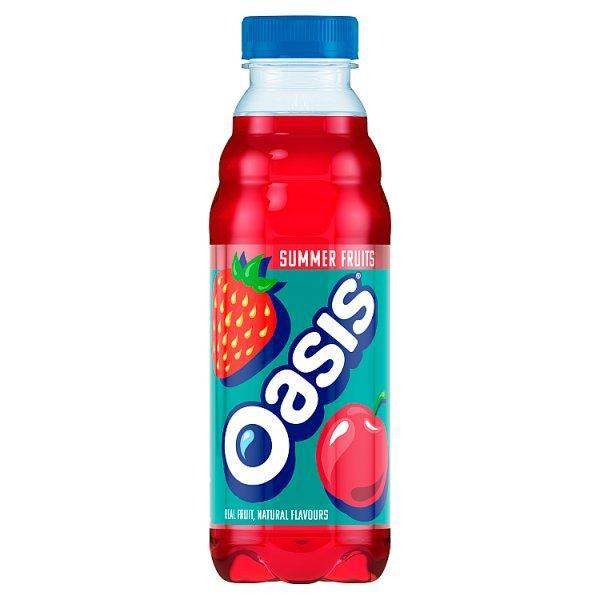 Oasis Summer Fruits Pm1.00 500ml